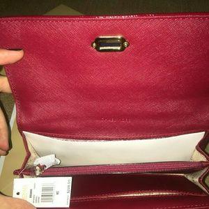 3e0fa51edb82 Michael Kors Bags - SOLD! Michael Kors Vivianne Cherry Leather wallet